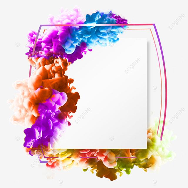 color smoke gradient border