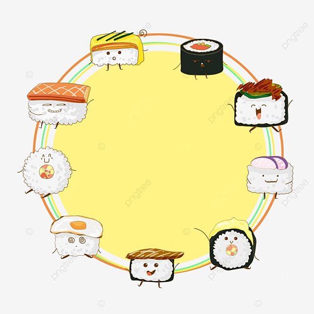 gentle sushi border
