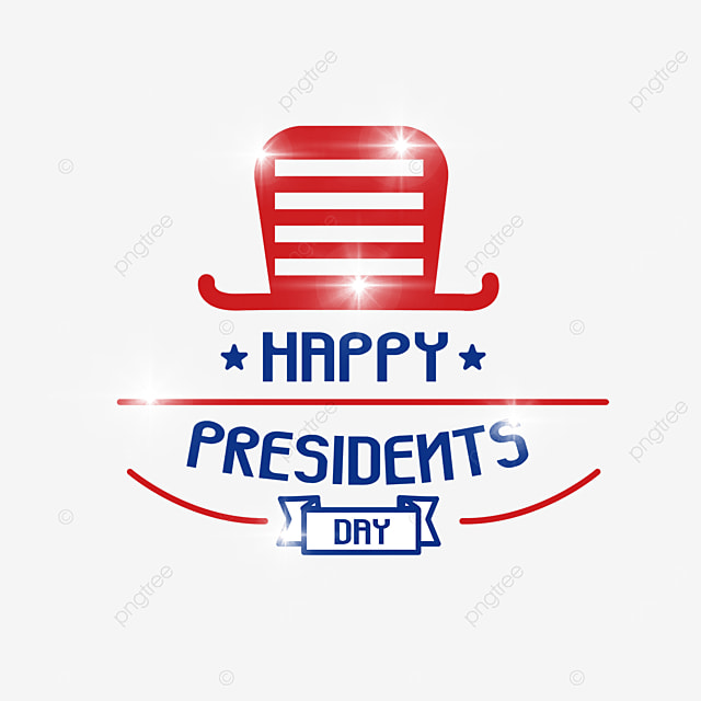 hat sign american presidents day