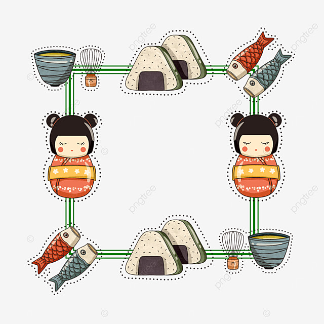 japanese sushi border