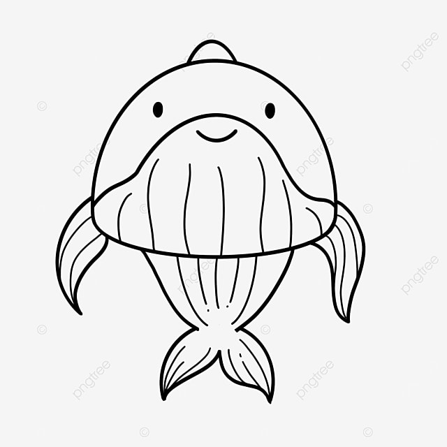 leaping whale clipart black and white