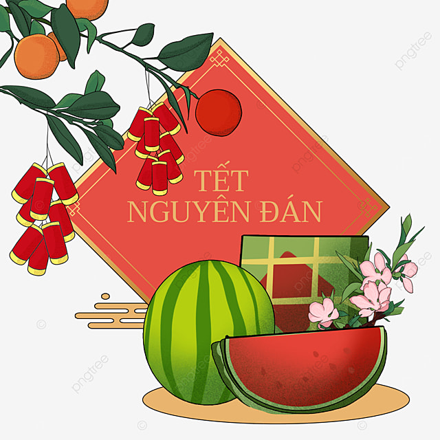 lucky stars bright vietnam spring festival watercolor border