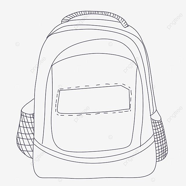 net bag clipart black and white