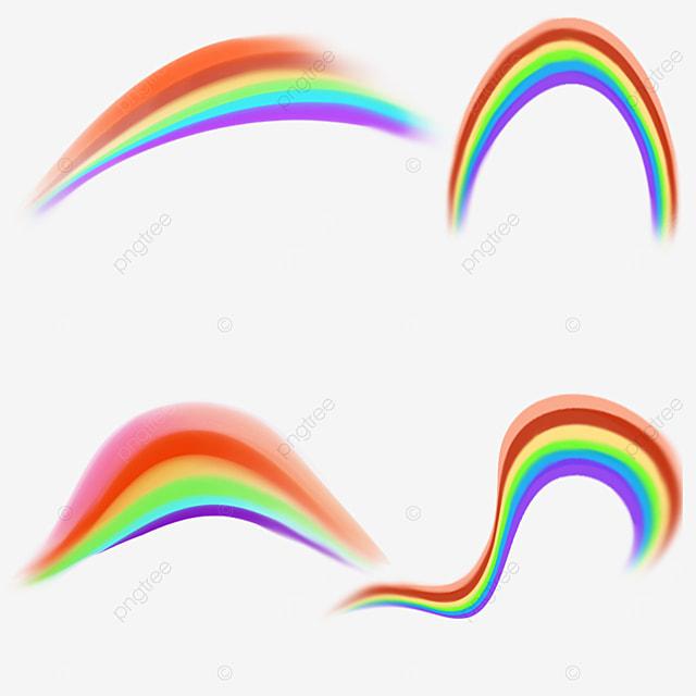 rainbow spectrum clip art