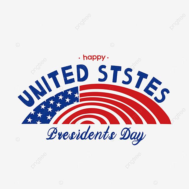 semicircular american presidents day