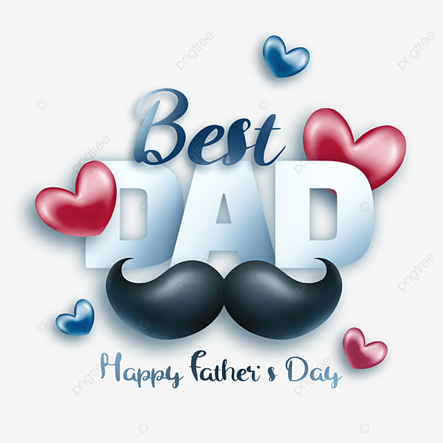 textured cartoon fathers day art word