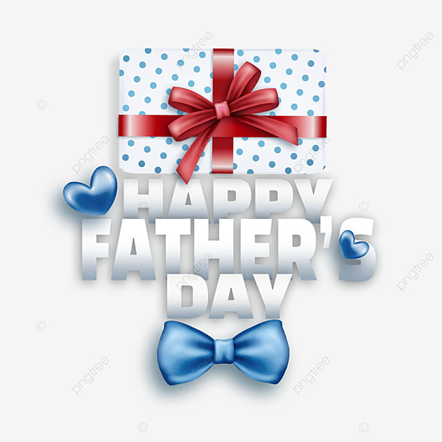 textured cartoon fathers day blue bow