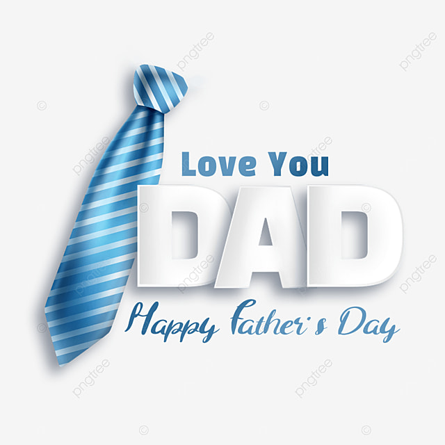 textured cartoon fathers day blue tie