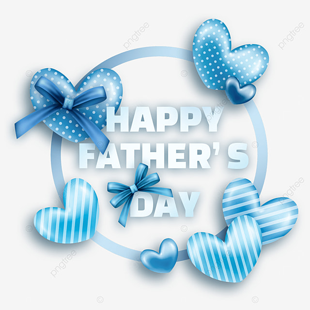 textured cartoon fathers day border