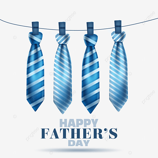 textured cartoon fathers day striped tie