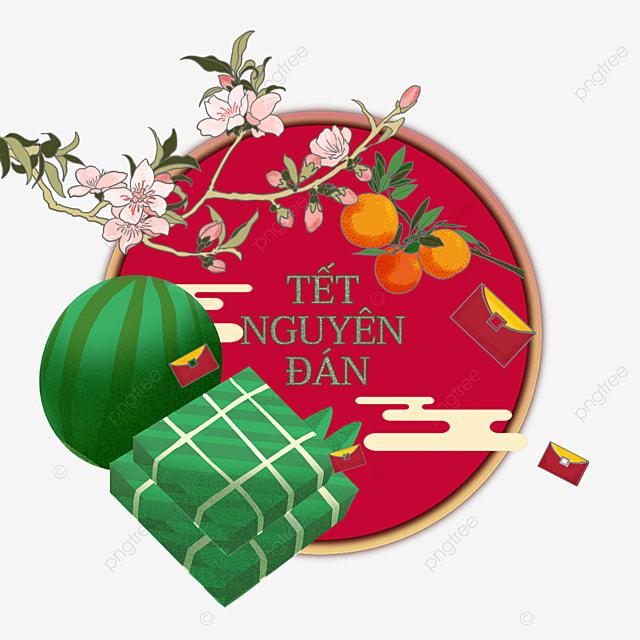vietnam spring festival watercolor all things wish border
