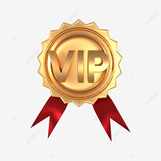 3d badge vip