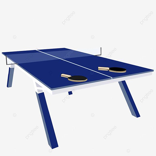 a pair of table tennis table tennis clipart
