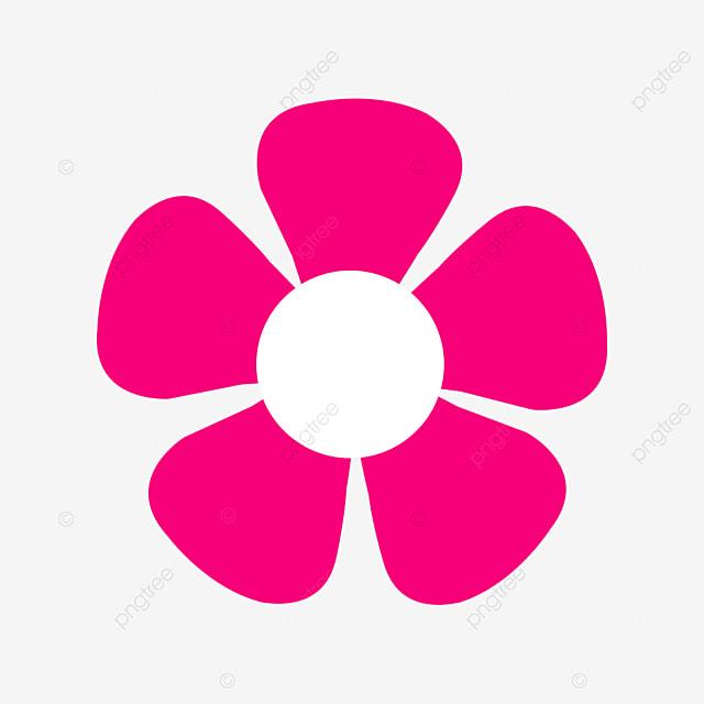dark pink floret flower flower clipart
