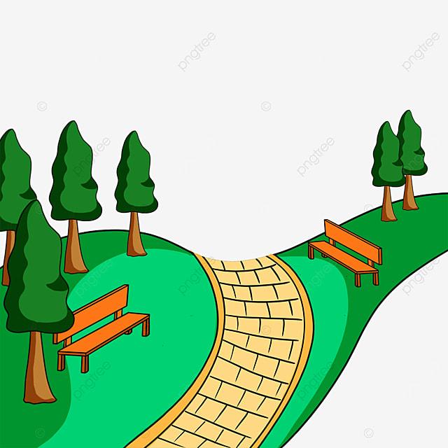 grass green park clip art