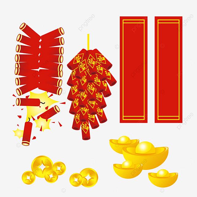 ingot spring festival coupled firecracker combination