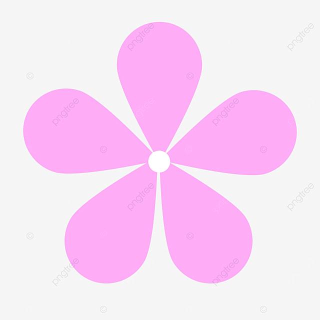 light pink flower clipart