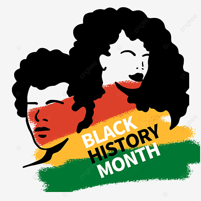 male female sign character black history month