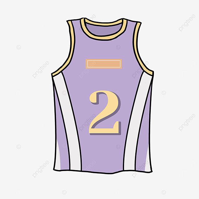 purple jersey clip art