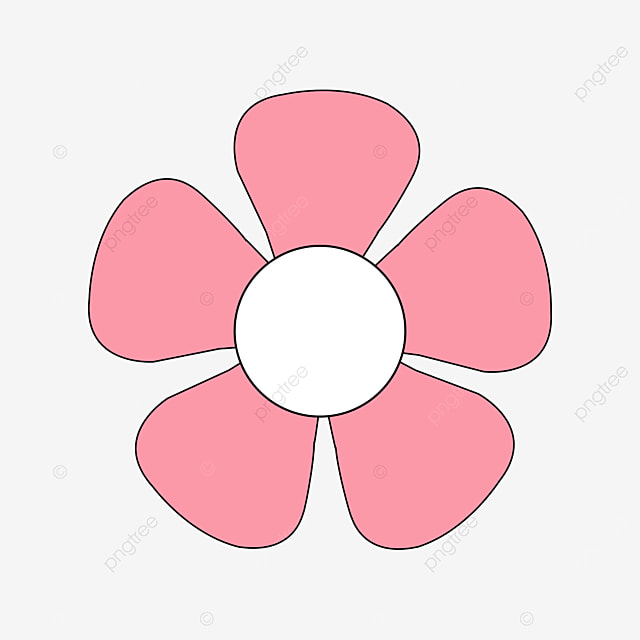rose pink flower clip art