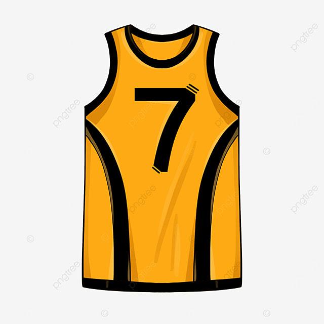 short sleeve jersey clip art