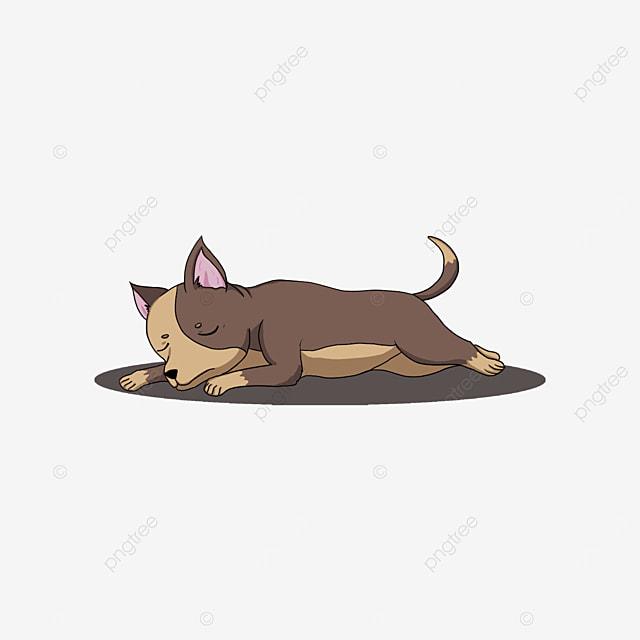 sleeping chihuahua clip art