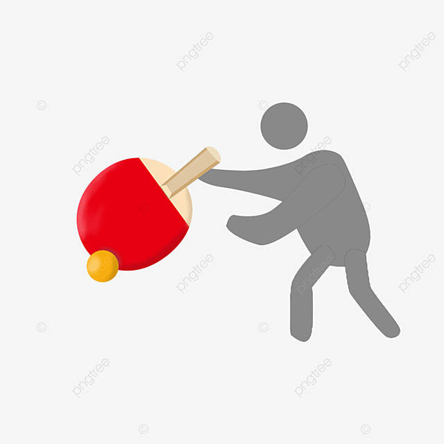 table tennis for all ages clipart