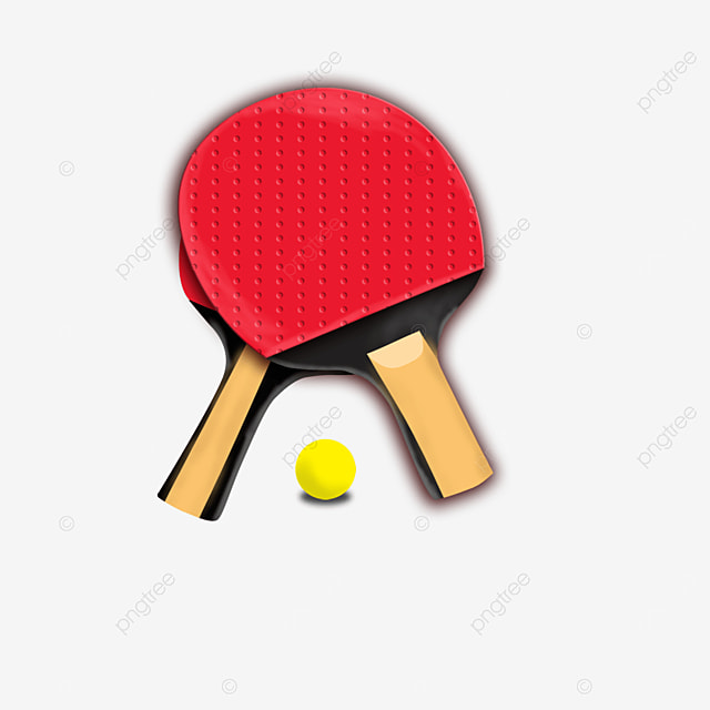 table tennis for two people clipart