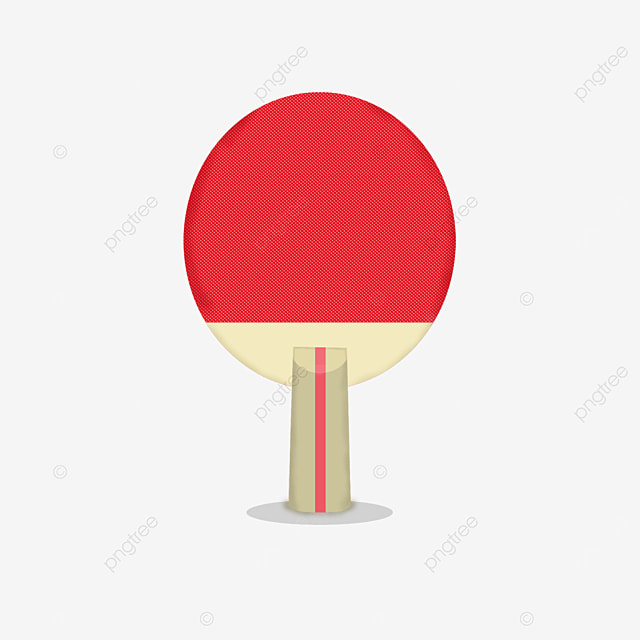 traditional table tennis clip art