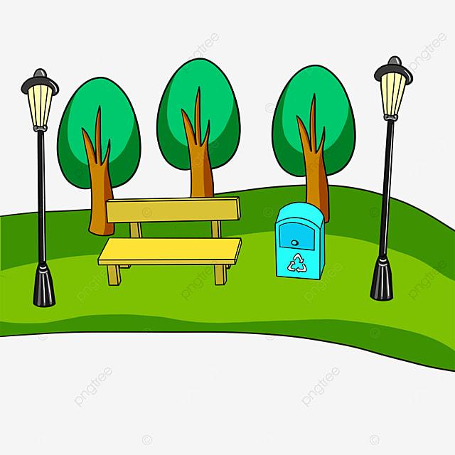trees park clipart