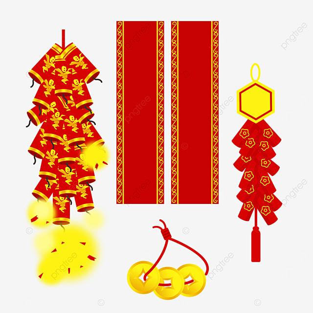 various spring festival couplet firecracker combinations