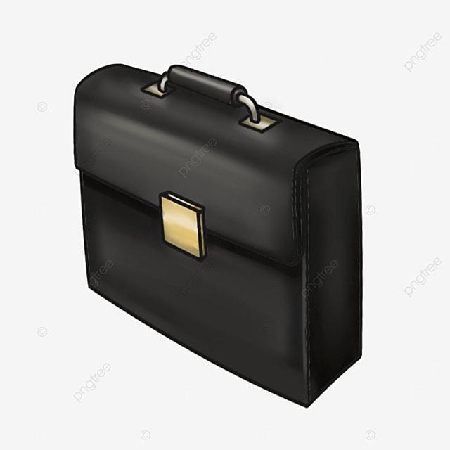 black briefcase clipart