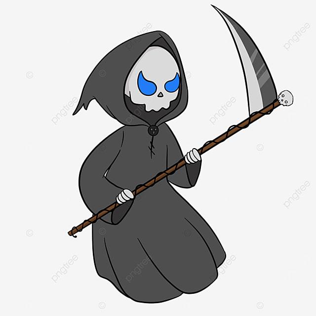 blue eyes grim reaper clip art