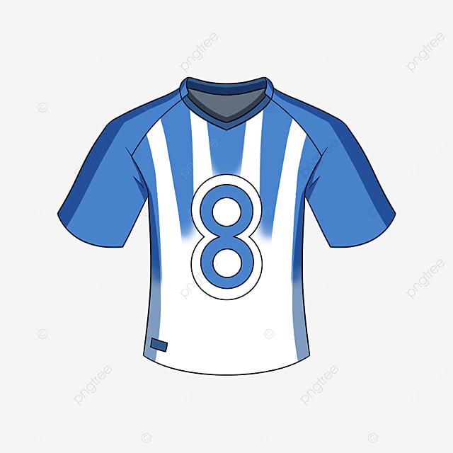 blue mens jersey clip art