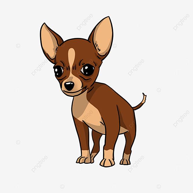 brown chihuahua clip art