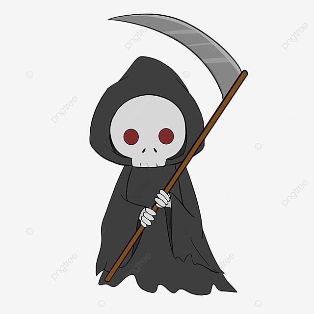 cartoon grim reaper clip art