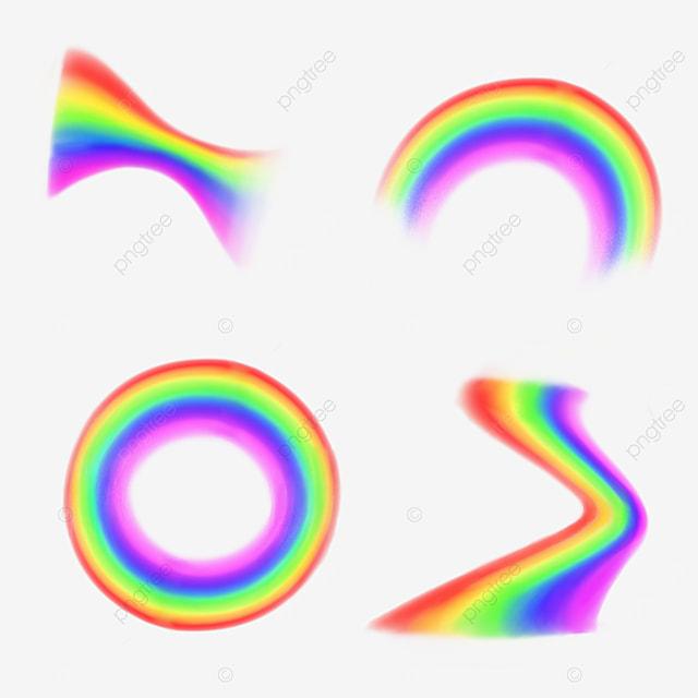 circular transform rainbow spectrum