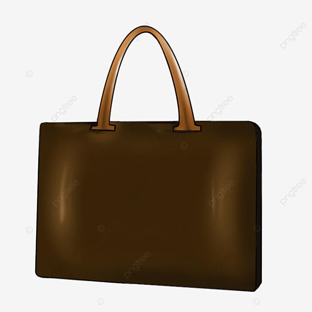 conference room brown briefcase clip art