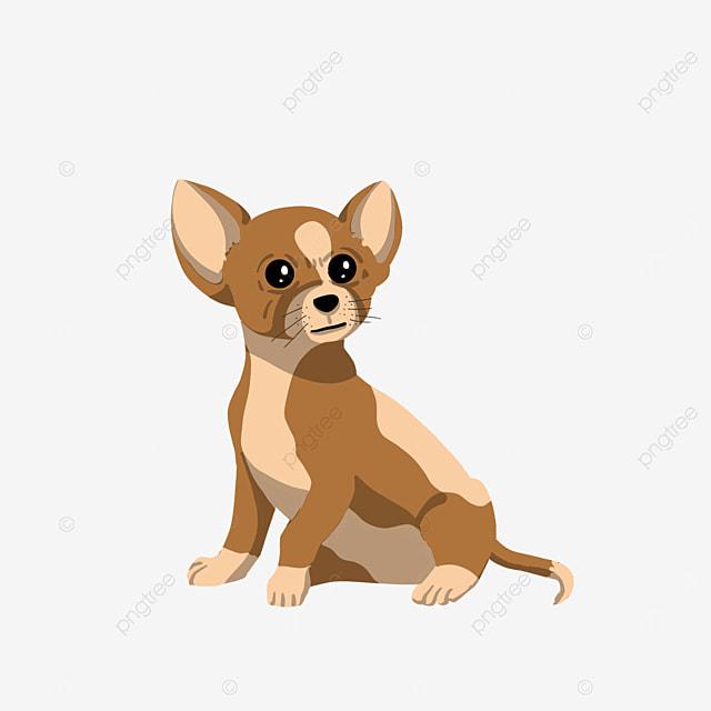 cute dog chihuahua clipart