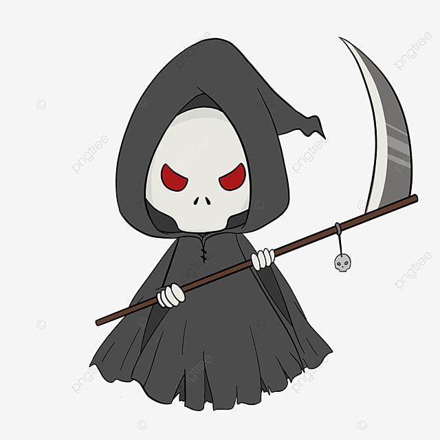 cute grim reaper clip art