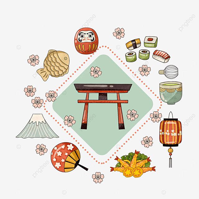 japanese shrine lantern mount fuji travel frame