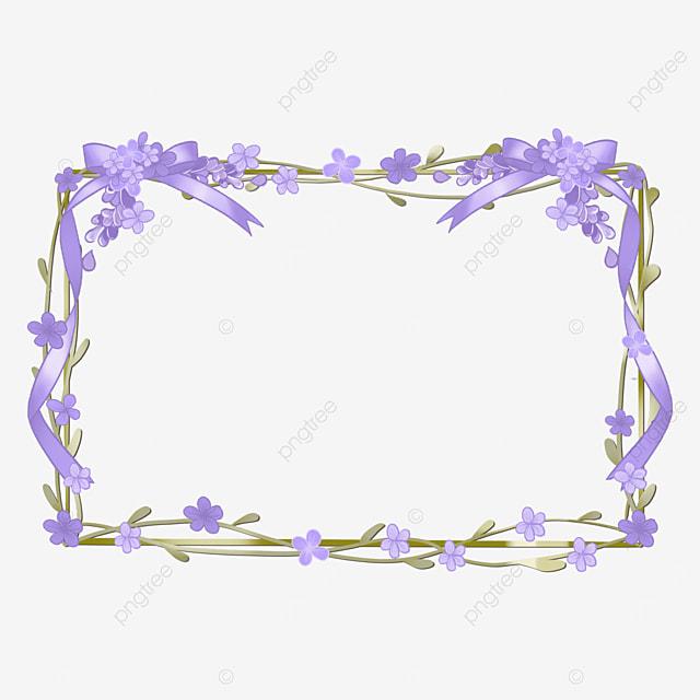 lavender border purple rectangle