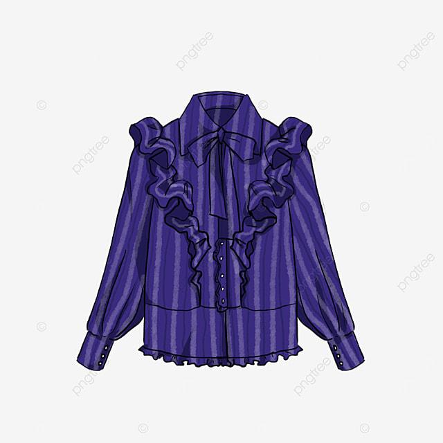 line lace blouse clipart