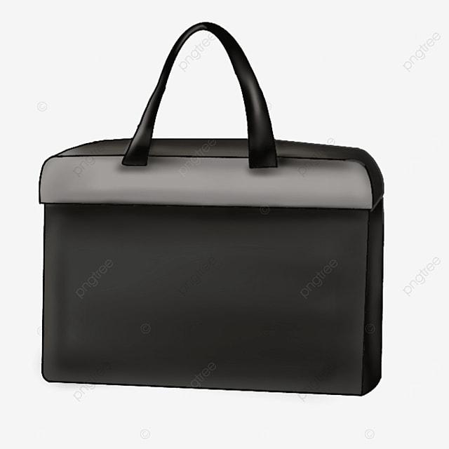 office black briefcase clip art