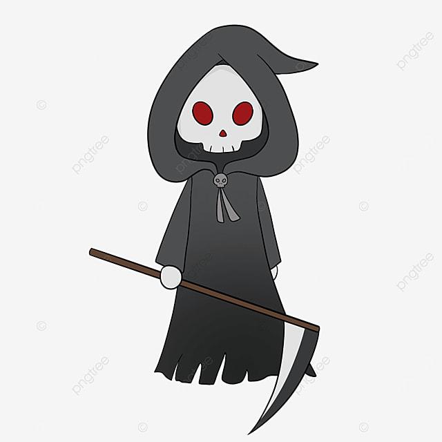 red eye grim reaper clip art