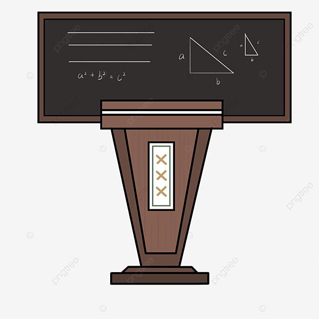 school podium clip art