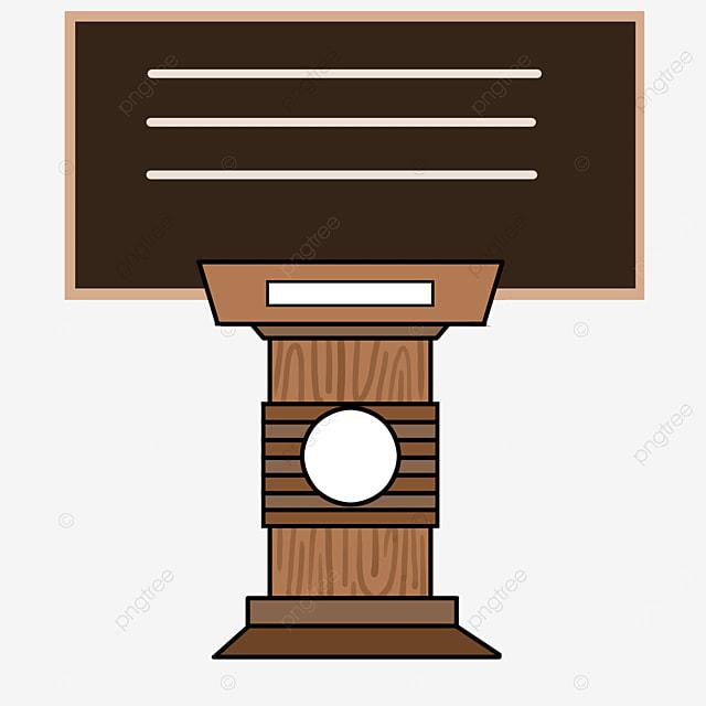 teacher podium clip art