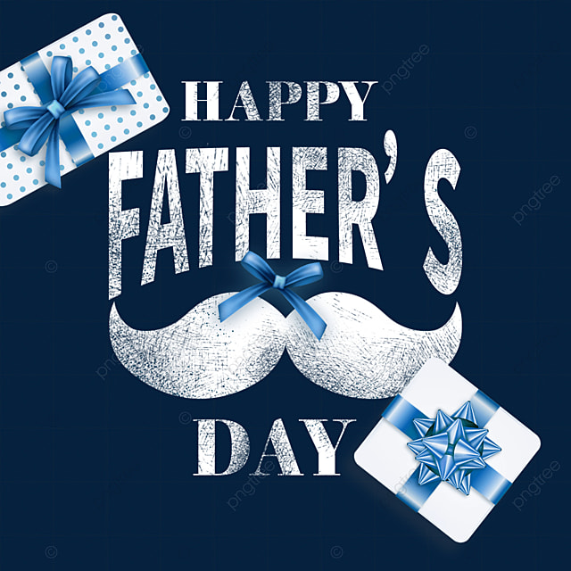 textured cartoon fathers day decoration gift box