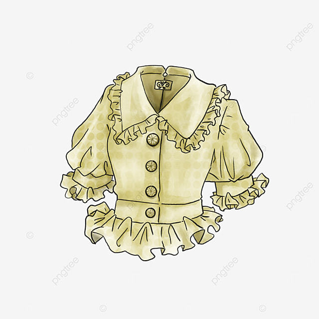 tunic slim blouse clip art