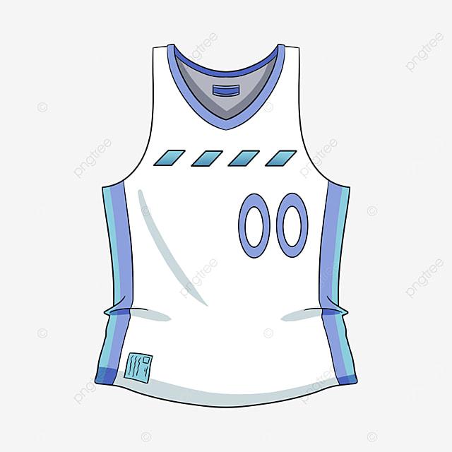 white basketball jersey clip art